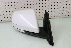 2015 15 Cadillac Ats 2.5 Luxury Side Door Mirror View Mirror Right White