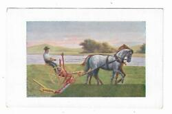 Old Trade Card International Harvester Company Zurich Horse Drawn Sickle Mower