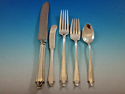 Virginia Carvel By Towle Sterling Silver Flatware Set For 8 Service 44 Pieces