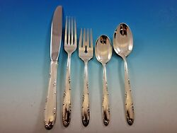 Madeira By Towle Sterling Silver Flatware Set For 8 Service 40 Pieces