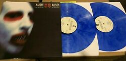 Marilyn Manson - The Golden Age Of Grotesque - DBL Blue Vinyl LP - New Very Rare