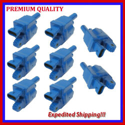 8pc Ugm001b Ignition Coil For Cadillac Cts 6.2l V8 2009 2010 2011 2012 2013