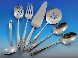 Spring Glory By International Sterling Silver Essential Serving Set Large 7-pc