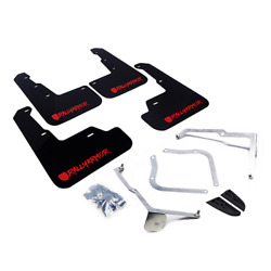 Rally Armor X Series Mud Flaps 2017+ For Honda Civic Fk8 Blk/ Red