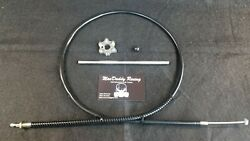 Yamaha Banshee Shift Star, Clutch Push Rod And Ceramic Ball With Clutch Cable
