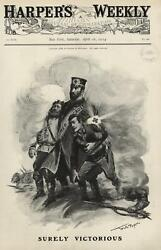 Red Cross Heroic Savior Russo-japanese War Russia Dying Soldiers 1904 Wa Rogers