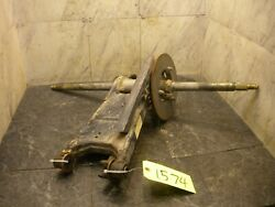 1996 Polaris Xplorer 300 4x4 Swingarm Assembly Axle Rear Carrier 1574