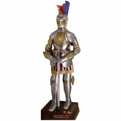 Medieval Decorated Knight Fully Wearable Full Suit Of Armor Replica