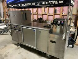 All Stainless Steel 3and039 X 8and039 Sierra Carts Class B Bbq Food Vending Cart For Sale