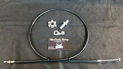 Macdaddy Yamaha Banshee Shift Detent + Star + Pancake Bearing With Clutch Cable