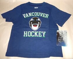 Outerstuff Toddler Baby Vancouver Canucks Mascot Logo T Tee Shirt, 24-months