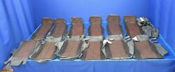 Piper Pa-32-300 Cherokee Six Seat Covers Black Vinyl And Cloth Nos 0819-96