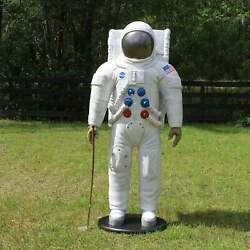 Astronaut Figure Statue Apollo Space Nasa Life Size 75 Inches Tall In Suit