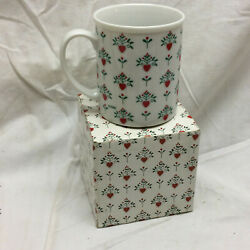 Heart Coffee Tea Cup By Alpine Dept 56 Porcelain Valentine's Day