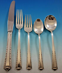 Processional By International Sterling Silver Flatware Set For 12 Service 64 Pcs