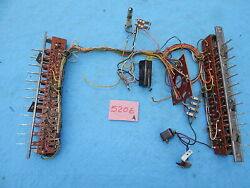 Wurlitzer Wallbox 5206 Switch And Wiring Assembly With Full Cycle Switch 57063