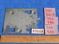 1940 1941 Wurlitzer 700 800 750 780 850 Coin Switch Mounting Plate 37029