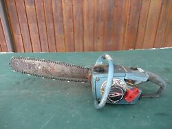 Vintage Homelite Xl-1 Chainsaw Chain Saw With 16 Bar