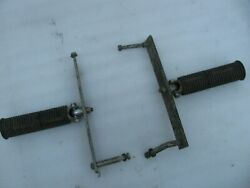 Harley Davidson Foot Pegs And Mounts Hummer Topper Panhead Flathead Sportster