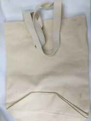 Cotton Tote Bag Natural Shopping Shoulder Canvas Sturdy Grocery $9.85