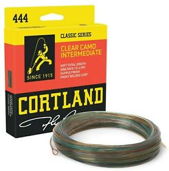 Cortland 444 Clear Camo Intermediate Fly Line - All Sizes - Free Fast Shipping