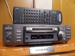 Sony Mds-s50 Md Deck Mdlp Compatiblel With Remote Controller F/s From Jp