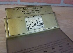 Trolley Catchers And Retrievers York Pa C I Earll Co Advertising Sign Clipboard