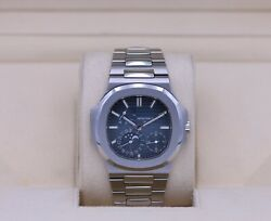 Patek Philippe Nautilus 57121A Stainless Blue Dial - Box & Papers