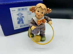 Hummel Figurine 2088/a Hula Hoop 3 7/8in 1 Choice With. Top Condition