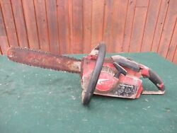Vintage Homelite Xl-130 Chainsaw Chain Saw With 16 Bar -