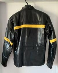 Polo Sport Authentic Leather Riders Jacket Size M Used