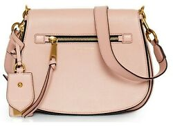Marc Jacobs Recruit Ladies Rose Medium Leather Saddle Handbag $144.94