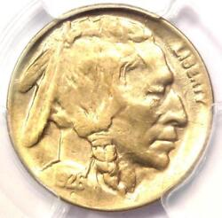1926-d 2 Feathers Buffalo Nickel 5c Fs-401 Two - Pcgs Uncirculated Det Ms Unc