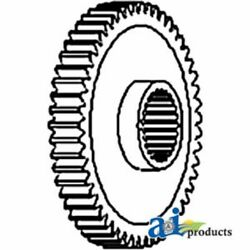 A-d1nn791a For Ford Tractor Ctr Shaft Gear 2810 2910 3230 3430 3910 3930 4