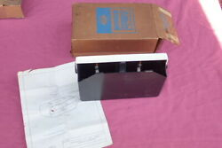 1966-68 Ford Accessory Stereo Tape Cartridge Holder, Nos C6az-19a090-a Mustang