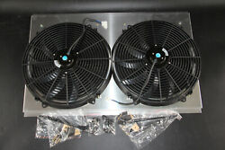 Kks Cooling 16and039and039 Fan Shroud 1994-01 Dodge Ram 1500 2500 3500 Ramcharger Radiator
