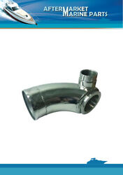 Stainless Steel Exhaust Elbow For Volvo Penta Marine Replaces 3826841 3829668