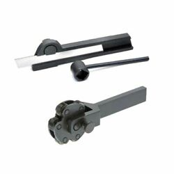 6 Knurl Knurling Tool 6 Inch With Parting Off Tool Holder 5/16 X 9/16 X 3-1/2 In