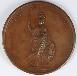 1707 Queen Anne Union Of England And Scotland Medal 69mm
