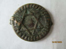 Morocco 19th Century. Coin One Falus Mohammed Iv Fez Mint 1872 Ah 1289