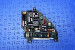 2012 Bmw 550i Gt Rear Trunk Fuse Junction Distribution Box W/o Auto Start
