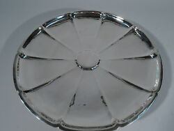 Tray - 20015 Craftsman Hand Hammered Plate American Sterling Silver