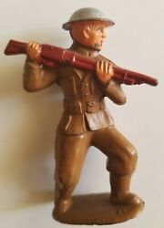 Barclay Toy Soldier Rare 765 B017abayoneting Early Cast Helmet Lead Manoil