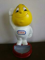 Esso Oil Drop Man Big Figure Esso Boy Vintage Rare From Japan Free Shipping
