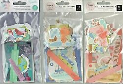Crate Paper/am Crafts Ephemeraseveral Varietiesso Cute And Useful Quick Ship