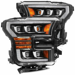 Nova Projector Headlights W/ Activation Sequential Signal For 15-17 Ford F150