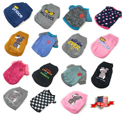 Puppy Chihuahua Sweater Dog Coat Clothes For Small Pet Warm Clothing Apparel USA $7.73