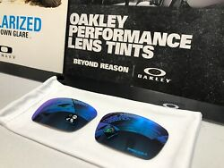 Oakley Fuel Cell Prizm Sapphire Iridium Replacement lens set - New w Bag