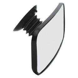 Cipa 11050 Suction Cup Marine Boat Mirror 4in X 8in Rear View Black