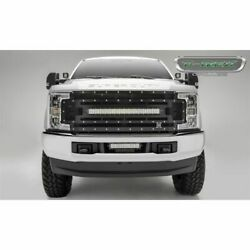 T-rex Products 6315471 Torch Led Light Grille - Small Mesh Chrome Studs New